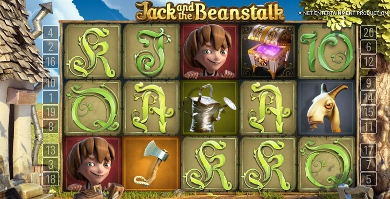 Spela Jack and the Beanstalk i mobilen
