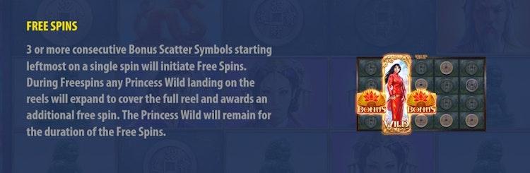 Aktivera free spins med bonussymboler