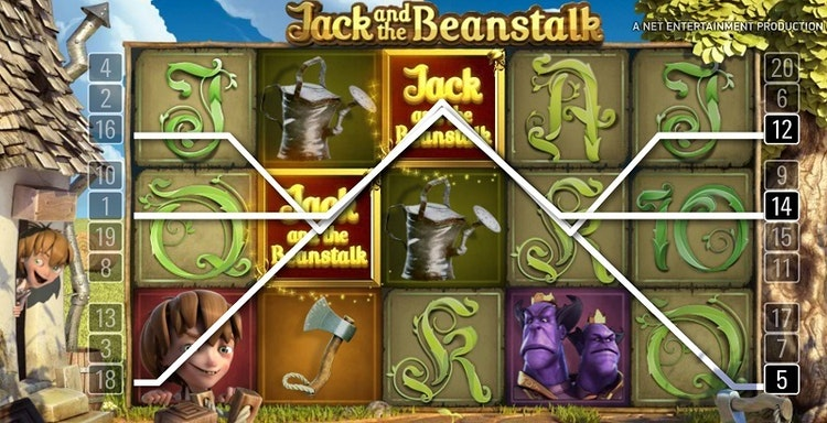 Du vill få många Jack-symboler
