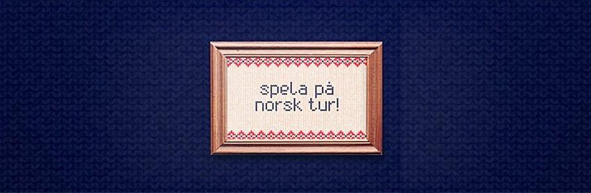Spela på norsk tur