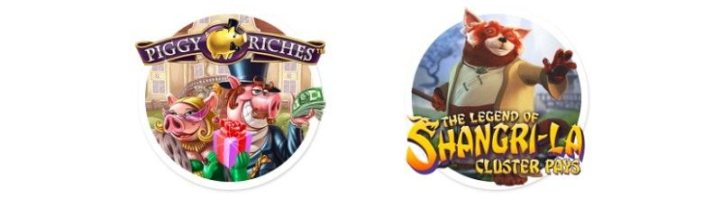 Piggy Riches och The Legend of Shangri-La