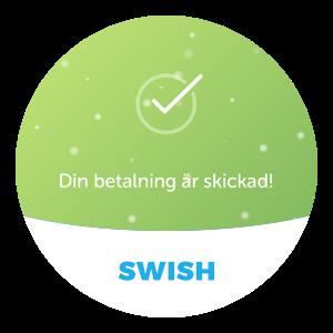 Swish - Skickad betalning