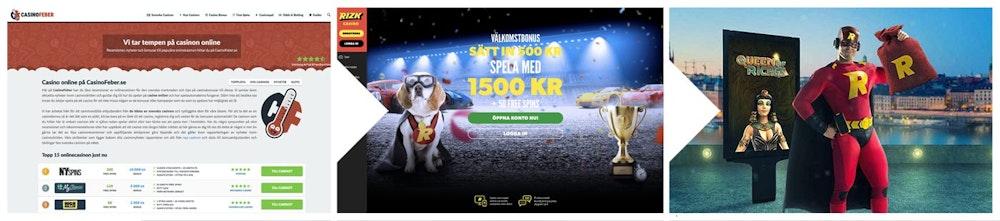 CasinoFeber hjälper dig välja rätt casino